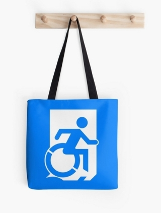 Accessible Means of Egress Icon Tote Bag 140