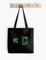 Accessible Means of Egress Icon Tote Bag 143