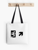 Accessible Means of Egress Icon Tote Bag 149