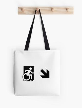 Accessible Means of Egress Icon Tote Bag 150