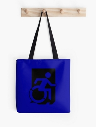 Accessible Means of Egress Icon Tote Bag 151