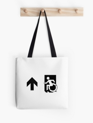Accessible Means of Egress Icon Tote Bag 156