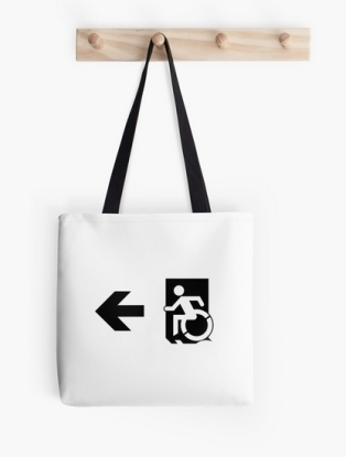 Accessible Means of Egress Icon Tote Bag 157