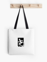 Accessible Means of Egress Icon Tote Bag 161