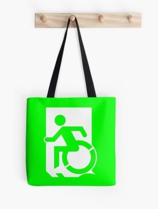 Accessible Means of Egress Icon Tote Bag 3