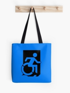 Accessible Means of Egress Icon Tote Bag 4