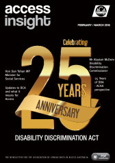 Access Insight Magazine March 2018 Cover Page